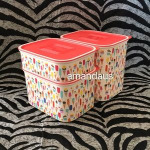 Tupperware Kitchen - *New* Tupperware Sweet Parlor 3pc Set Canister